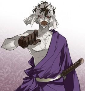 7. Makoto Shishio (Rurouni Kenshin)