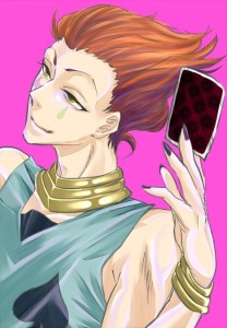 8. Hisoka (Hunter×Hunter)