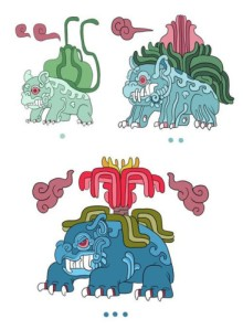 Bulbasaur, Ivysaur and Venusaur