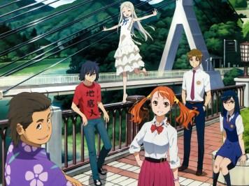 O filme de Ano Hana estréia nas salas de cinema do Japão em 31/08