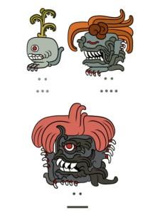 Oddish, Gloom and Vileplume