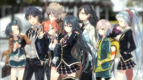 Yahari Ore no Seishun Love Come wa Machigatteiru. (imagem: Stúdio Brain's Base/2013)