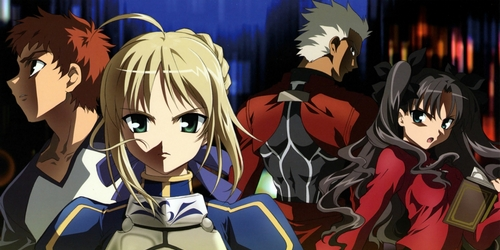 Fate/Stay Night (imagem: divulgação)