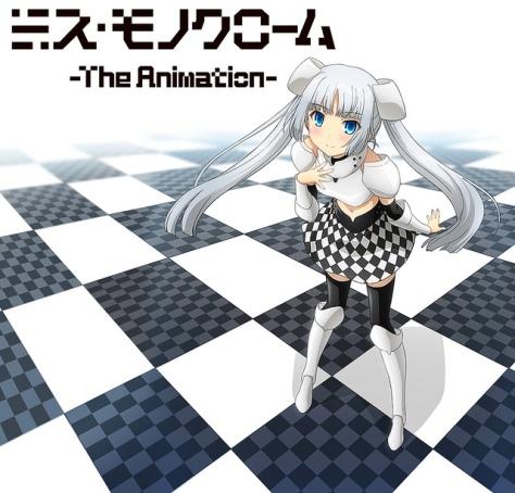 Imagem divulgada da apresentação do anime. Não, não é a Nyaruko-san e nem a Hatsune Miku de preto e branco! heheeh (Imagem: divulgação)
