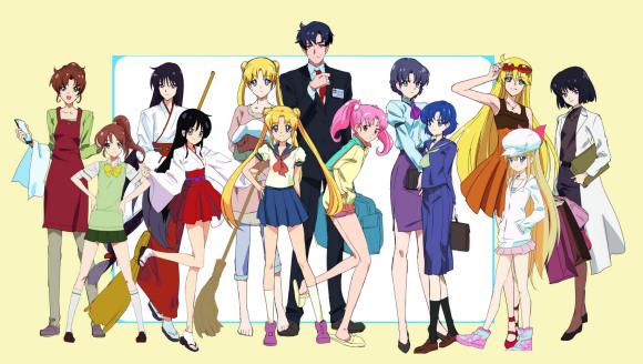 Essa seria a nova turma de Sailor Moon... será que podemos contar com um pingo de esperança ainda? (imagem: PIXIV)