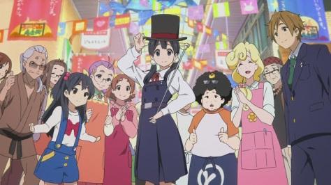 Tamako Market (imagem: Kyoto Animation)