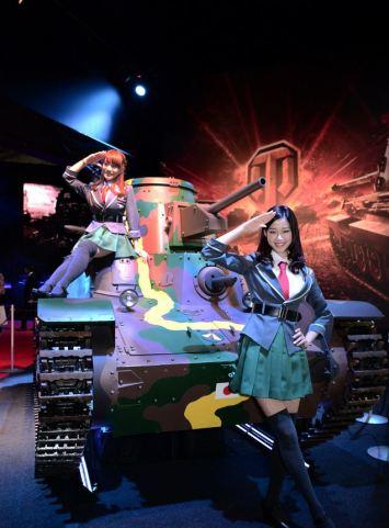 Cosplay de Girls Under Panzer