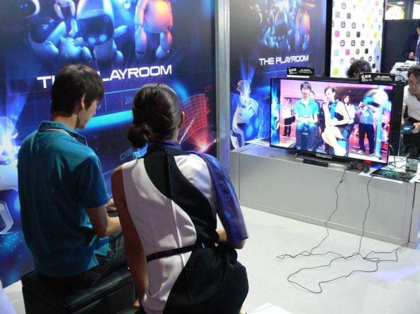 A Staff ensinou como usar a câmera PlayStation para se divertir com a sala de jogos.