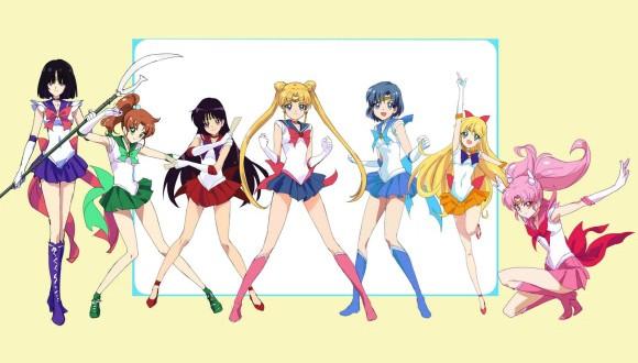 Esses seriam os novos visuais das Sailor-Guerreiras? (imagem: PIXIV)
