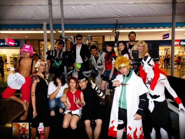 Concurso de Cosplays agitou o Shopping Rio Claro (imagem: Lau)