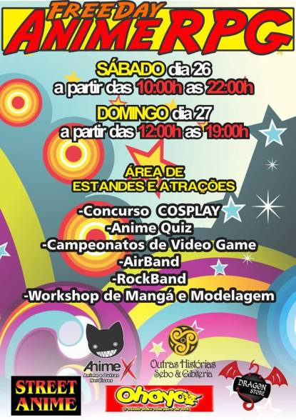 Freeday Anime RPG 2013 - Anime X - Fd01