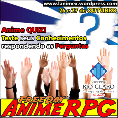 Freeday Anime RPG 2013 - Anime X - Fd02