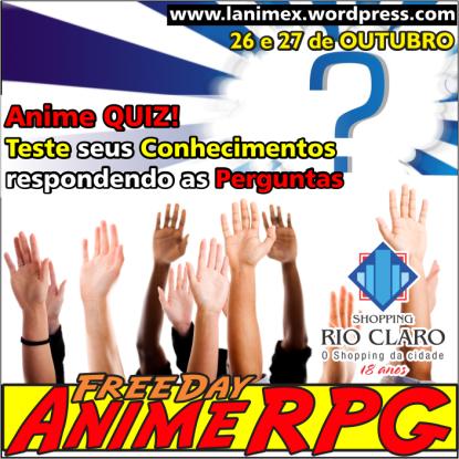 Freeday Anime RPG 2013 - Anime X - Fd02