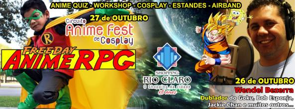 FreeDay Anime RPG 2013 - Shopping Rio Claro