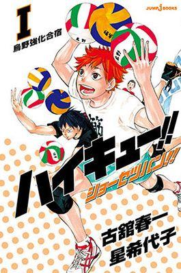 Capa do Volume 1 do Mangá de Haikyu (imagem: Jump Comics)