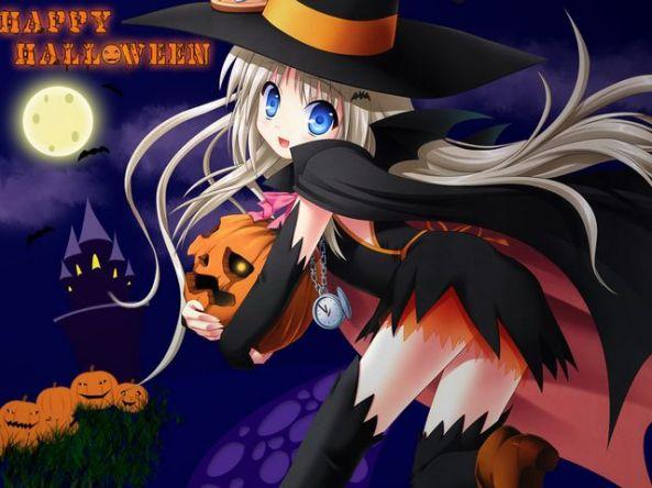 Não pense que só porque a imagem é bonitinha, que os animes não são assustadores!