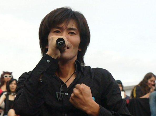 Cantor Kouji Wada (imagem: divulgação)