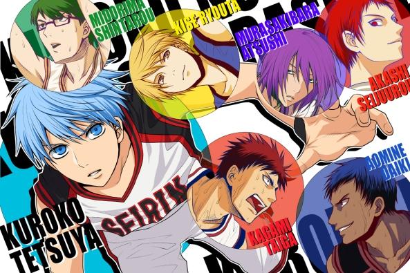 Kuroko no Basket, ver. Anime (imagem: divulgação)