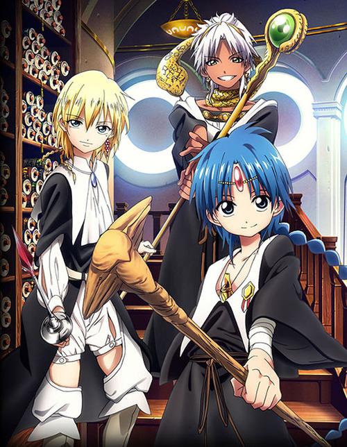 MAGI: The Kingdom of magic (imagem: divulgação)