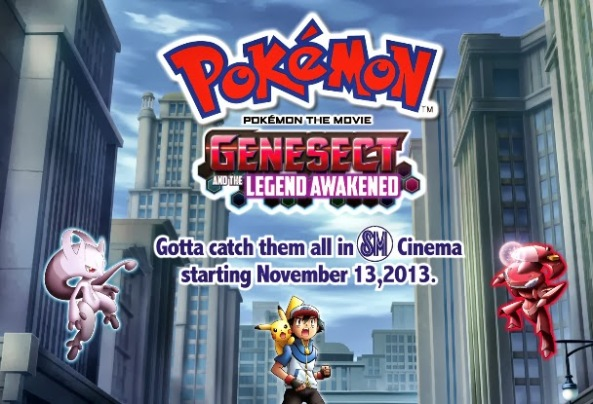 Pokemon Genesect and Legend Awakened