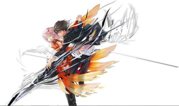 Ilustração do anime Guilty Crown, por Redjuice (imagem: Tokyo Otaku Mode)