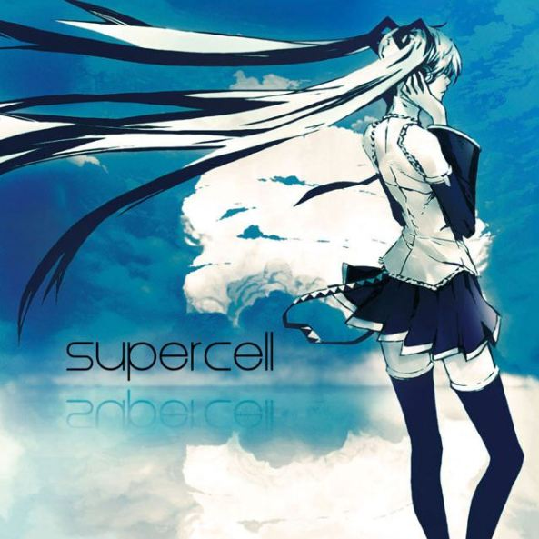 Capa do 1º album de Supercell, todos os vocais deste álbum foram criadas com o sintetizador de voz de Hatsune Miku.