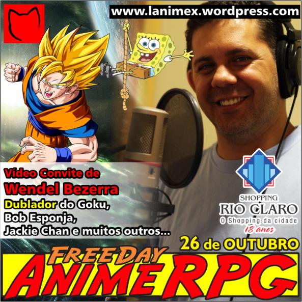Wendel Bezerra FreeDay Anime RPG Rio Claro 2013