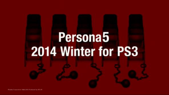 Anuncio de Persona 5 para a temporada de inverno. (imagem: divulgação)