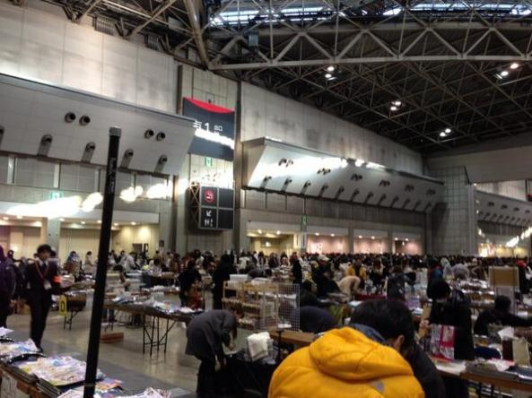 Comiket85 - Day 1 - twitter 01