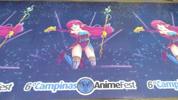 Poster Campinas Anime Fest 2013