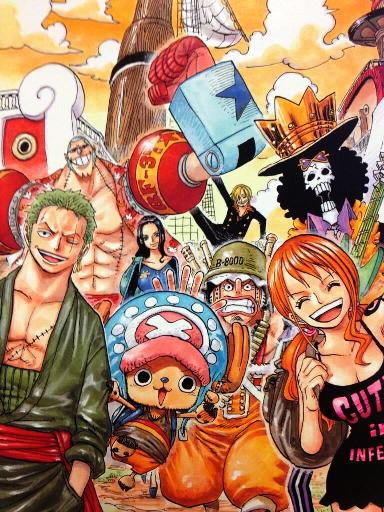 TOP10 Mangas 2013 - 01 One Piece