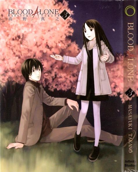 Capa do volume 3 do mangá Blood Alone. (imagem: divulgação)