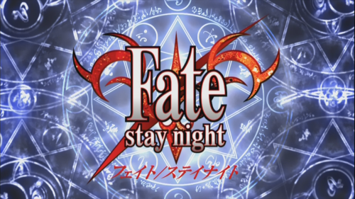 Fate Stau Night logo - AnimeXis