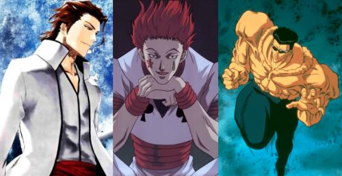Sousuke Aizen, Hisoka e Toguro são os novos vilões adicionados no game. (imagem: SGCafe)