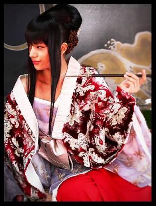 A amante de Shishio, Yumi Komagata, interpretada pela Atriz Maryjun Takahashi